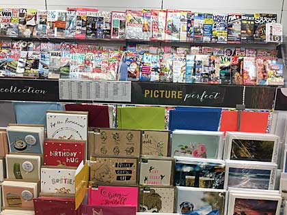 Greeting Cards and Magazines